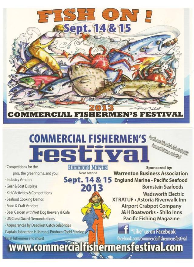 2013 Commercial Fishermens Festival w/ Deadliest Catch Cast